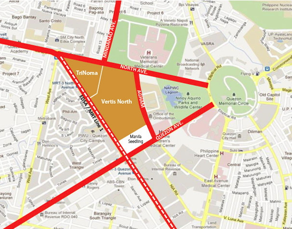 Vertis_North_location_map