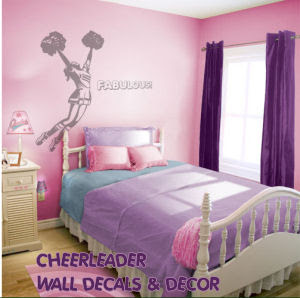 Bedroom Pictures Decorating cheerleading bedroom decor | bedroom
