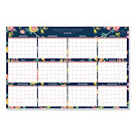 Day Designer Laminated Wall Calendar, 36 X 24, 2021