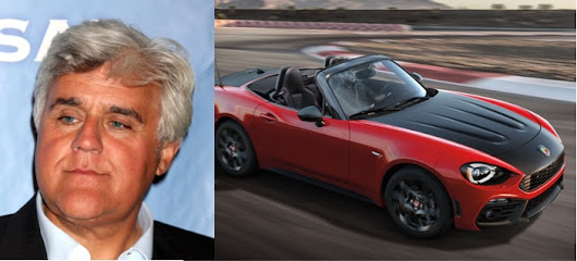 Jay Leno Gifts a New Fiat 124 Spider to Wounded Warrior