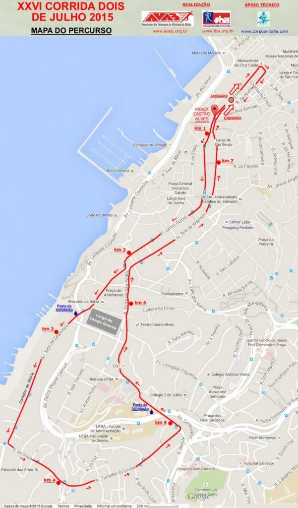Na edição desse ano o percurso será modificado e terá cerca de 76,km (Foto: Divulgação AVAB)