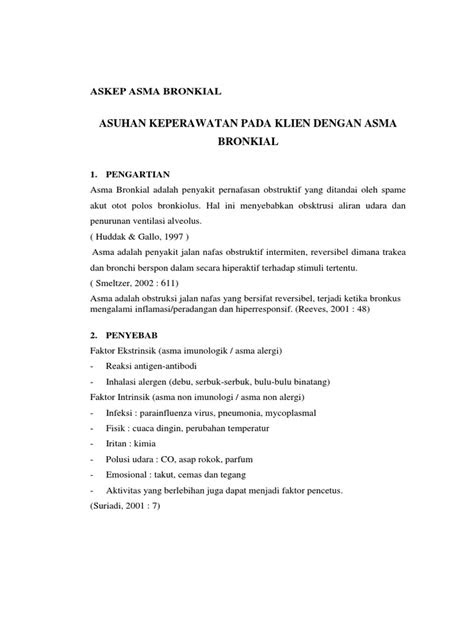 ASKEP ASMA BRONKIAL PDF