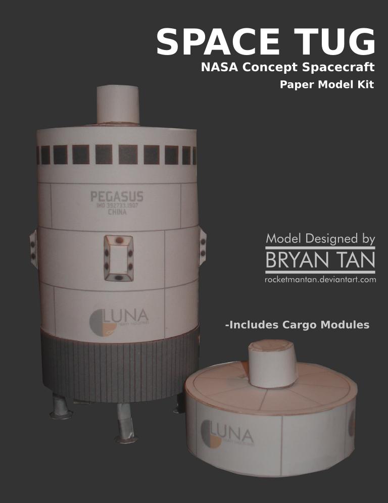 Space Tug Papercraft