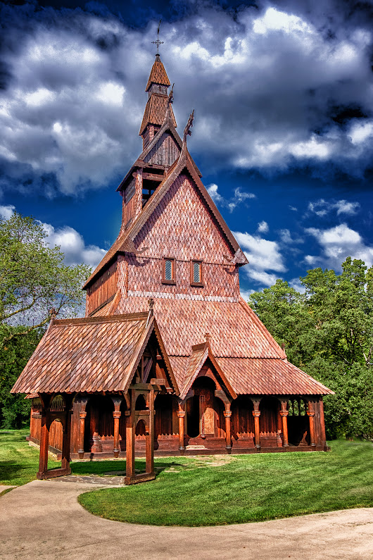 The Hopperstad Stave Church