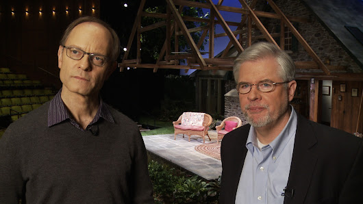James Sims |   Interview with David Hyde Pierce and Christopher Durang