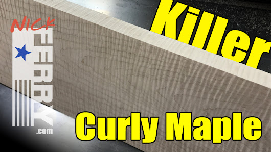 Killer Curly Maple Keepsake Box Build - PART ONE (ep85)
