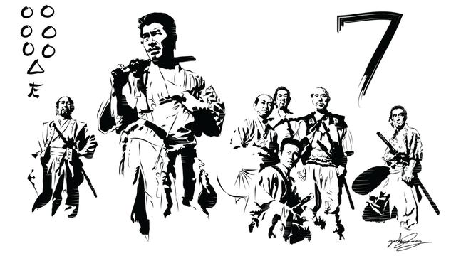 Resultado de imagem para 7 samurais png
