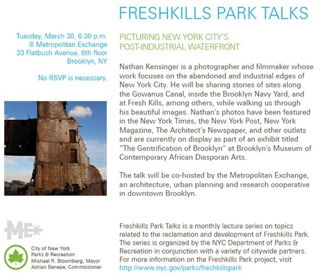 Freshkills Park New York City