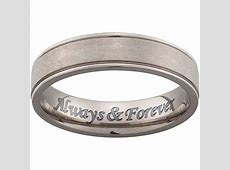 15 Best Ideas of Engraving Mens Wedding Bands