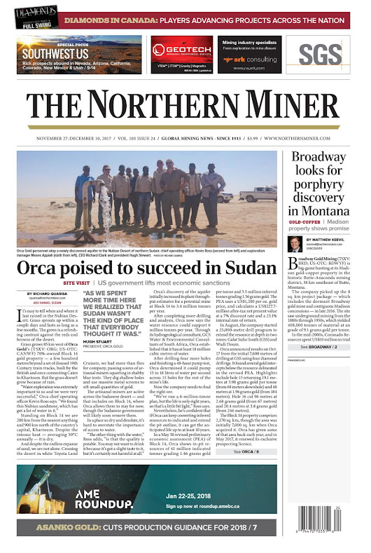 The Northern Miner November 27 2017 Issue