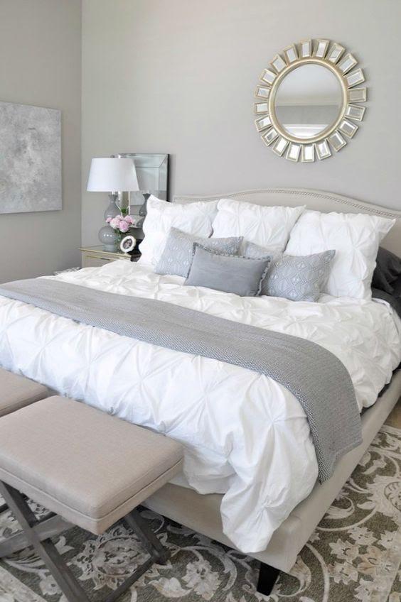 40 Gray Bedroom Ideas - Decoholic