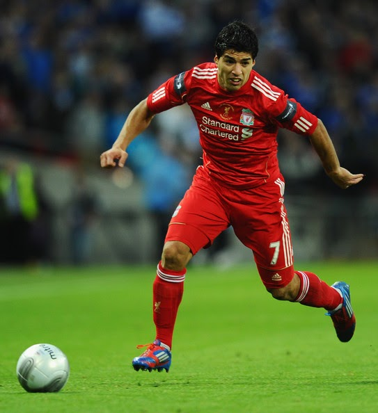 Download Liverpool Vs Middlesbrough 3 0 Epl Video: Luis Suarez Of Liverpool In Action During The Carling Cup