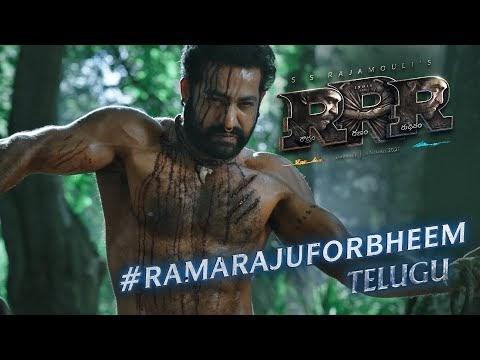 Ramaraju For Bheem - Bheem Intro - RRR (Telugu)   NTR, Ram Charan, Ajay ...