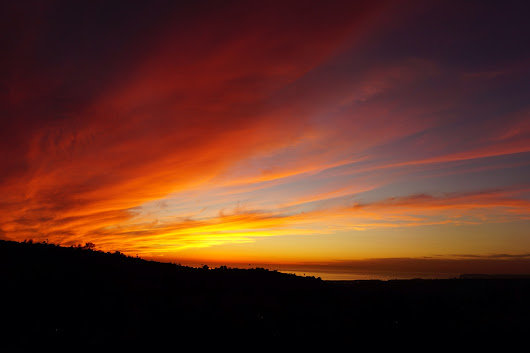 Sunset over San Clemente