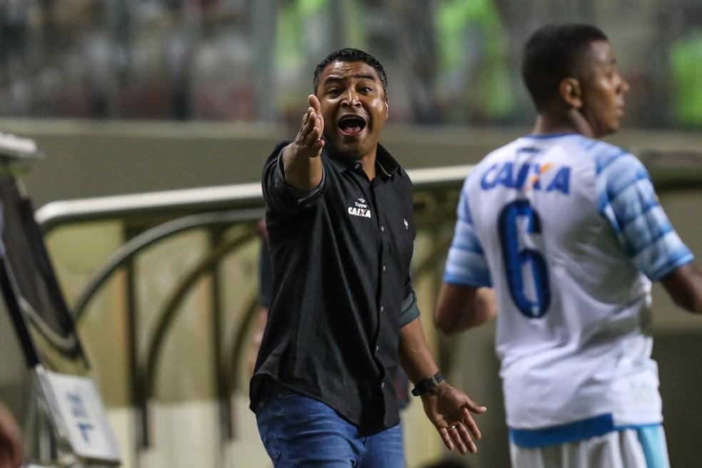 Roger Machado destacou entrega do time atleticano contra o Avaí (Foto: Bruno Cantini/CAM)