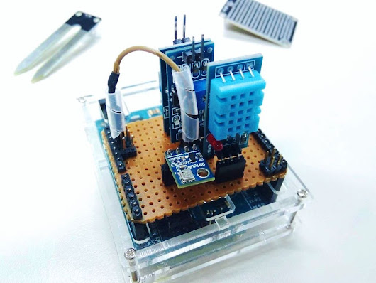Build Your Own Arduino Weather Station | Make: