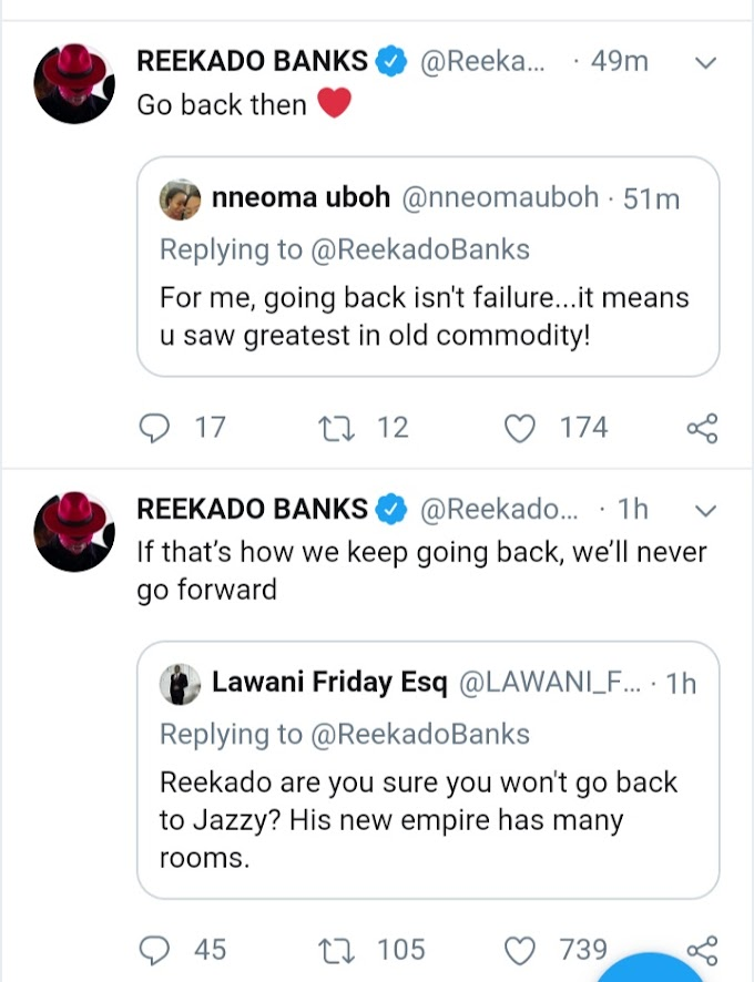 EXCLUSIVE: Reekado Banks' response to a fan that advised him to return to Don Jazzy's Mavin records