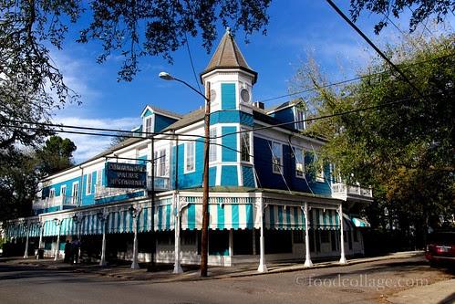 Food collage commander 39 s palace new orleans garden - Garden district new orleans restaurants ...