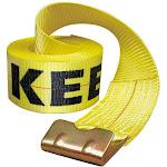 Keeper 04926 Winch Strap, 4-In. x 30-ft.