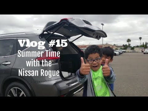 Vlog #15: Kicking Off the Summer with the Nissan Rogue