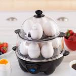 Dash Deluxe 12-Egg Cooker (Black)