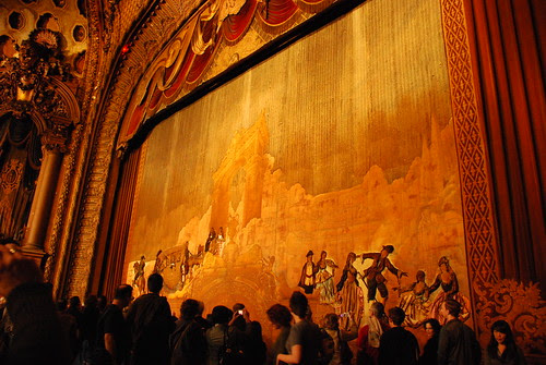 Los Angeles Theatre Hand-Sewn Curtain