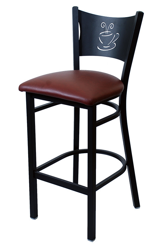 Coffee Cup Metal Bar Stool Restaurant Furniture Canada