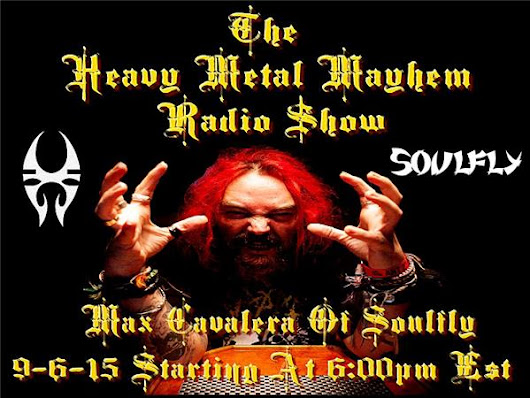 Guest Max Cavalera Of Soulfly & Steve Smyth Of One Machine
