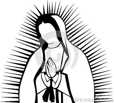 Dibujos De Virgencitas Para Imprimirimagenes Y Dibujos Para