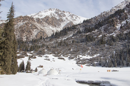 A Winter Paradise: Kyrgyzstan's Ak-Suu Backcountry Skiing Yurt Lodge