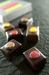 Chocolat au Macaron, Pierre Hermé Paris, Salon du Chocolat Tokyo 2010, Shinjuku Isetan