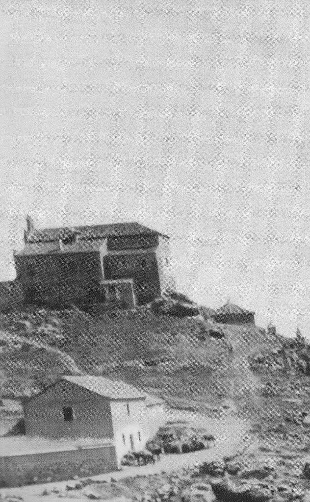 Ermita de la Cabeza hacia 1880. Foto Casiano Alguacil (detalle)