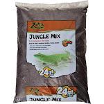 Zilla Jungle Mix Premium Reptile Bedding - 24 qt