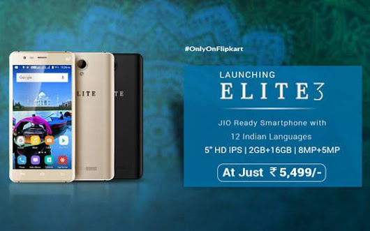 Swipe Elite 3 With 4G VoLTE Support Launched In India At Rs. 5,499