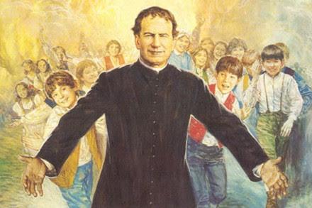 """Una imagen de los oratorios salesianos """"Don Bosco""""."""