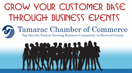 Business Events in South Florida - Tamarac Chamber of Commerce