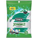 Schick Xtreme2 Sensitive Men's Disposable Razors - 12ct