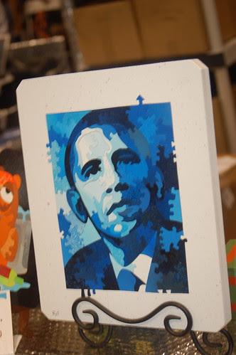 Comic Con 2008: Barack Obama Puzzle