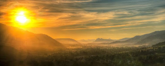 Saatchi Art: Dawn of the Valley - Limited Edition 1 of 50 Photography by Steve Austin