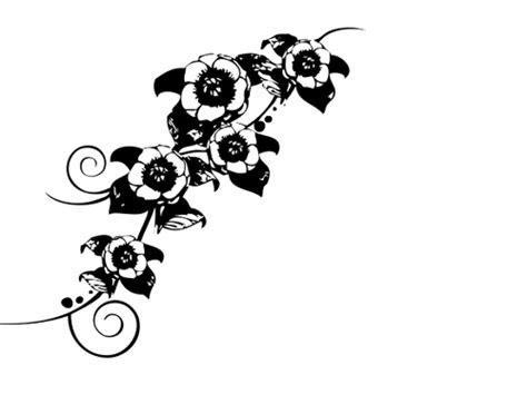 pohon hitam putih clipart