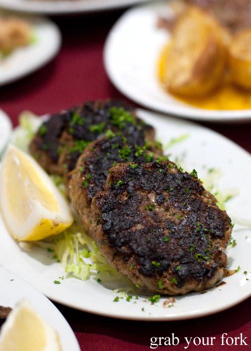 Cyprus Cypriot Club keftethes meatballs