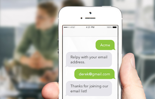 Grow Your VerticalResponse Email List with Text Messaging