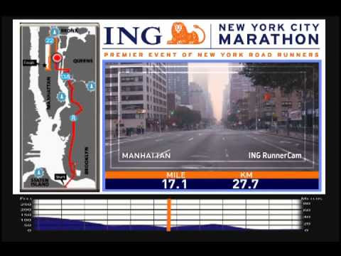 Good Luck, New York Marathoners