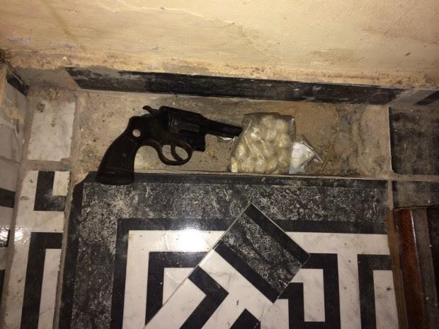 Cerquilho - esconderijo drogas (Foto: Divulgação / GCM de Cerquilho)
