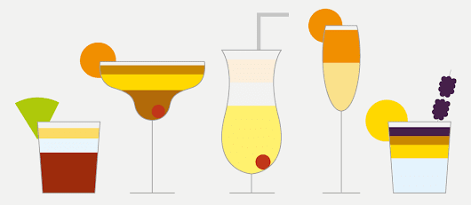 Cocktails | Information is Beautiful