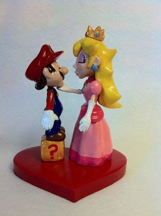 Nougat: Something to chew on: Mario and Princess Peach