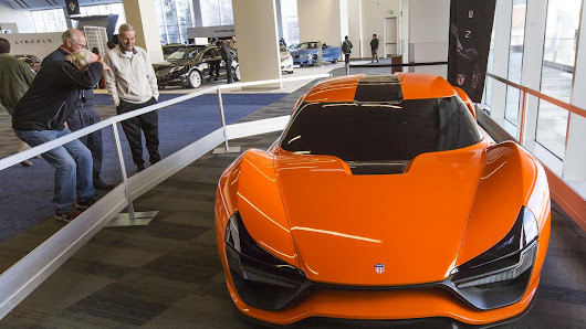 Trion Nemesis wows the crowd at the Silicon Valley Auto Show - Silicon Valley Business Journal