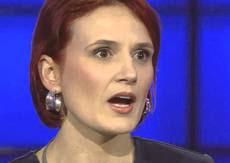 La parlamentare tedesca Katja Kipping, della Linke
