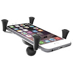 "RAM Universal X-Grip IV Large Phone/Phablet Cradle with 1"" Ball by PilotMall.com"