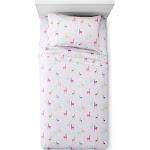 Twin Llama Sheet Set White - Pillowfort